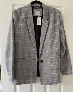 Pimkie Check Blazer Size 12 BNWT