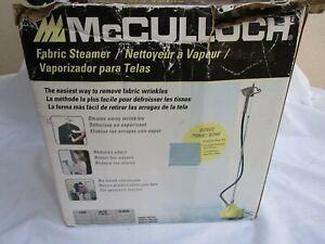 McCULLOCH..MODEL MC1407..STANDING..FABRIC STEAMER..NEW