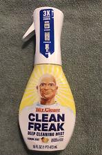 Mr. Clean Lemon Zest Deep Cleaning Mist Clean Freak 16oz Spray Bottle