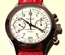 Poljot Chronograph Edelstahl handaufzug Vintage aus einer Sammlung