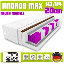 Matratze Andros Max Kokos Taschenfederkern 20 cm H3/H4 9 zonen 140 x 200 cm