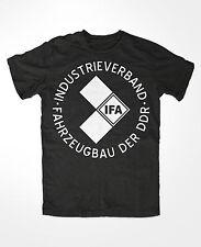 IFA T-Shirt schwarz ,GDR,FDGB,DDR,VEB,Ostalgie,nva,DSF MZ ,FDJ GST