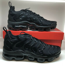 Brand New Nike Air Vapormax Plus Triple Black 924453-004 Trainer Size UK 10