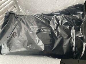 Supreme KAWS Chalk Box Logo Hooded Sweatshirt Black Medium SS21 New *IN HAND*