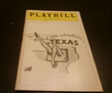The Best Little Whorehouse In Texas Playbill - 46th Street Theatre January, 1979