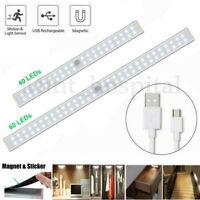 LED rechargeable sous meuble allume lampe placard cuisine à capteur mouvement LB