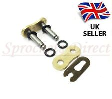 GOLD 520 O RING MOTORCYCLE BIKE DIRT BIKE ATV QUAD DRIVE CHAIN SPLIT LINK