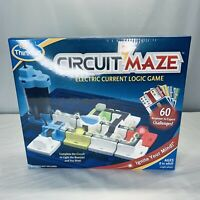NEW! Thinkfun CIRCUIT MAZE Electric Current Logic BOARD GAME Factory Sealed!