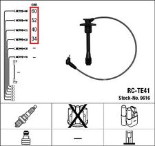NGK ZÜNDLEITUNGEN Kabel Toyota Carina E 1.6 GLI Corolla 1.3 Paseo 1.5 STARLET