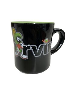 Warner Bros Studio Store Marvin The Martian Mug Cup Looney Tunes Black Green