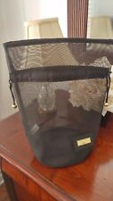 Paloma Picasso Black Cosmetic Bag