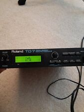 Roland Td-7 Percussion Sound Module w/Turbo Software Ac Adapter and Mount