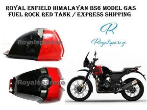 Royal Enfield Himalayan BS6 Model Gas Fuel Rock Red Tank