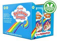 Swizzels Rainbow Drops Bags Multipacks 8 x  80g Each Pack Sweets Kids