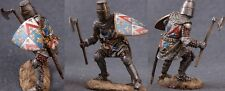 Tin toy soldiers ELITE painted 54 mm   French Knight with War Axe (2)