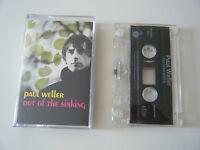 PAUL WELLER OUT OF THE SINKING CASSETTE TAPE SINGLE GO! DISCS UK 1994