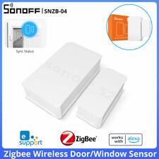 Sonoff snzb - 04 ZigBee Puerta Ventana Sensor Casa Inteligente Inalámbrico detectar alarmas Monit