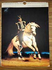 Calendrier cirque Knie? 1987 - circus, circo
