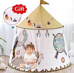 Huge Teepee Kids & Toddlers Playhouse/ Indoor & Outdoor Fun Teepee Tent