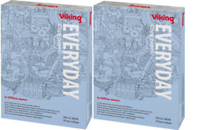 2 Reams (1000 sheets) Viking Everyday A4 80gsm 500 Copy Paper - White (4317075)