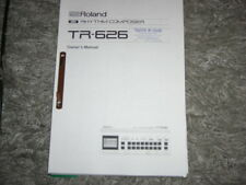 Roland tr-626 manual. in inglese!
