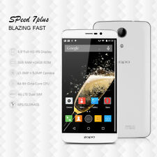 "5.5"" Inch ZOPO Speed 7 Plus 4G LTE 3GB/16GB Smartphone Cellulare 2 Rear Camera"