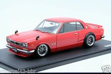 1/18 Ignition Model Nissan Skyline 2000 GTR KPGC10 Red Free Shipping/ MR BBR
