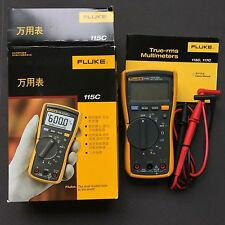 Authentic New Fluke 115C F115 True RMS Field Digital Multimeter 1PC