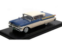 MERCURY TURNPIKE COUPE 1957 METALLIC BLUE/WHITE 1:43 NEO45875