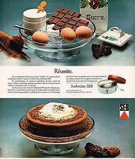 PUBLICITE  1977   SEB   sorbetière
