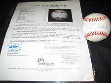 HOFs (7) SIGNED AUTOGRAPHED ONL BASEBALL BANKS, HUNTER, MARICHAL, KILLEBREW+ JSA