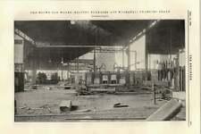 1895 rotondo in rovere opere forni di riscaldamento idraulico Gru Di Ricarica