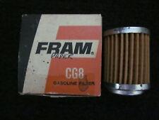 FRAM CG8 Fuel Gas Filter OEM 1964-68 AMC Rambler American Marlin Ambassador NOS
