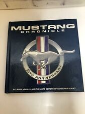 35th Ford Mustang Anniversary Book By Jerry Heasley Consumer Guide