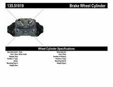 Drum Brake Wheel Cylinder-Drum Rear Centric 135.51019