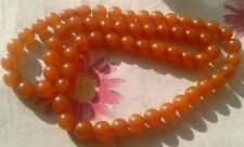 Vintage Baltic Amber Necklace Honey Sunny Pressed Amber 52 grams Beads.68cm