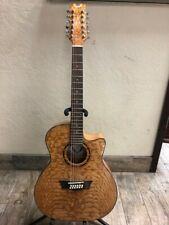 Dean Exotica Quilt Ash 12 Acoustic/Electric Guitar (22055130-1)