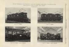 1924 Swiss Federal Railways Single Phase Electric Locomotives Under Construction
