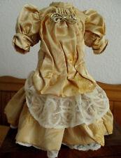 Robe poupée ancienne jumeau steiner sfbj porcelaine dress antique doll