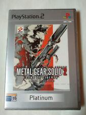 Metal Gear Solid 2 Platinum (PlayStation 2, 2003)