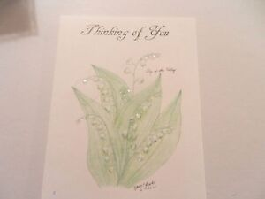 Lily of the Valley - Greeting Card  -Thinking of You #120