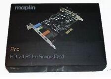 7.1 HD Maplin Pro PCI-e a basso profilo Scheda audio