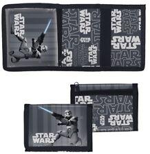 Kinder Portmonee Geldbörse Geldbeutel Disney Star Wars grau