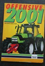 DEUTZ FAHR Offensive 2001 Agrotron  Agrolux  Schlepper Traktor Prospekt
