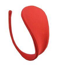 Damen C-String Transparente Unterwäsche Tanga Rot Dessous Bikini Größe S/M/L