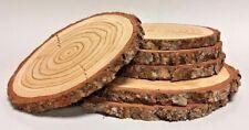 LÄRCHE Restposten Holzscheiben Astscheiben Baumscheiben Deko 6 Stück 16-24 cm