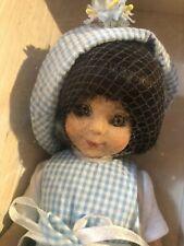 "Tonner Betsy McCall Htf Black Hair Collector 14"" Vinyl Doll Box Mib"