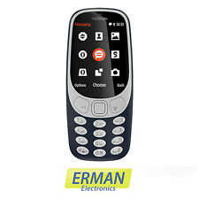 Telefono Nokia 3310 nuovo 2017 dual sim color blu scuro -  display a colori