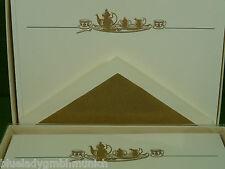 Karten 10er BOX Einladungskarten + Kuvert ✿ Teatime ✿ Cards & Envelopes