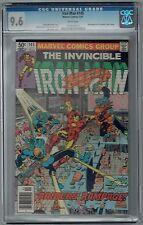 INVINCIBLE IRON MAN #145 CGC 9.6 NM+ WP MARVEL COMICS BRONZE AGE 1981 ALI APP